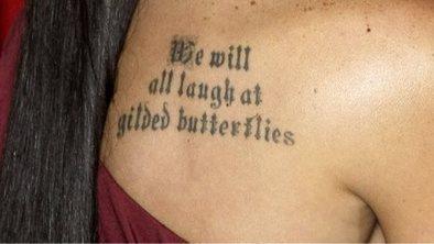 The rise of the text tattoo | Tatuagem | Scoop.it