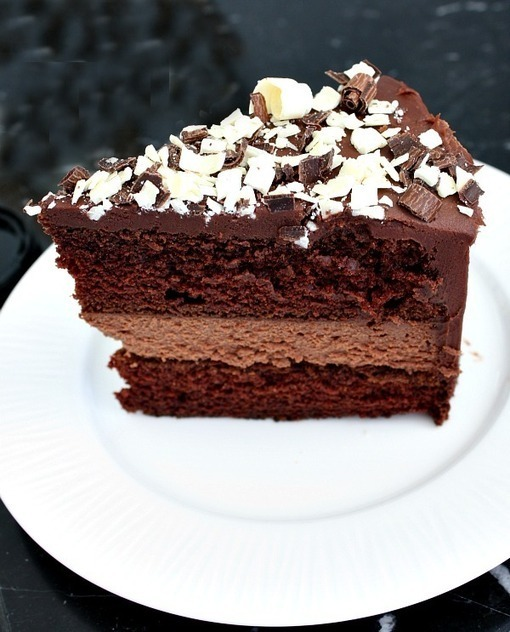 Chocolate Cheesecake Cake | Recipe Girl | Happy...