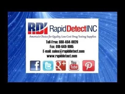 American Made Drug Test Products Video - The RDI Blog   Alcohol and Drug Tests   Scoop.it