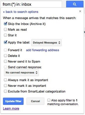 Gmail Timer - Schedule when to receive new mail by Musubi Google Apps Script | saves | Scoop.it