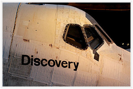 CoolPix: Space Shuttle Discovery Up Close At The Udvar-Hazy ... | Astronomy News | Scoop.it