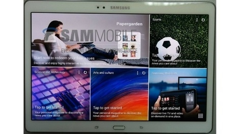 Samsung Galaxy Tab S 10.5 revealed in photo leak | Tech And Gadget News | Scoop.it
