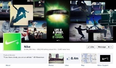 Nike takes social media in-house | News | Marketing Week | DV8 Digital Marketing Tips and Insight | Scoop.it