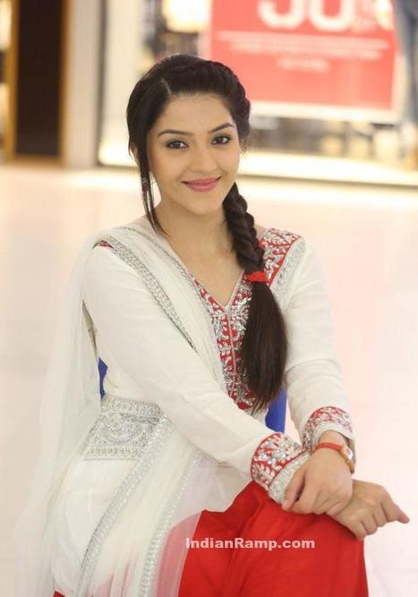 KVPG Actress Mehreen in a White Red Long Frock Anarkali Suit, Actress, Indian Fashion, Tollywood | Indian Fashion Updates | Scoop.it