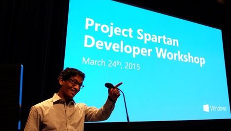 "Updates from the ""Project Spartan"" Developer Workshop   News de la semaine .net   Scoop.it"