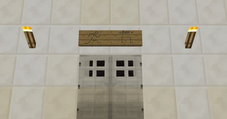 Everything Minecraft — Basic ASCII art using Minecraft sign posts via... | ASCII Art | Scoop.it