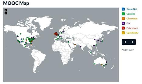 MOOC Map | Managing Technology and Talent for Learning & Innovation | Scoop.it