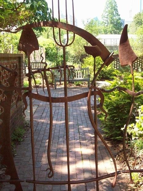 Beautiful Garden Gate Ideas | Gardening Life | Scoop.it
