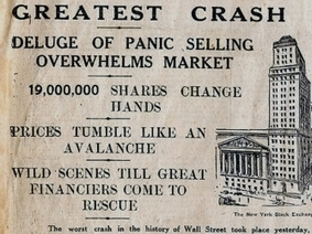 Stock Market Crash of 1929 - Facts & Summary - HISTORY.com | The Great Depression vs. The Great Recession | Scoop.it