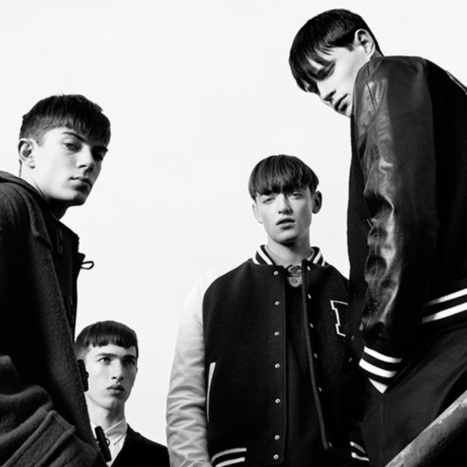 Fred Perry x Raf Simons AW13 | Subcultures | Scoop.it