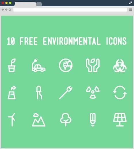 10+ Free Environmental Icon Set | Designrazzi | Bazaar | Scoop.it