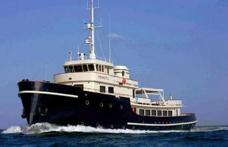 PROMETEJ - the converted tug for sale | Boat Industry & Economics | Scoop.it