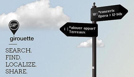 Girouette, le panneau de signalisation urbaine alimenté par Twitter | E-vitrine territoriale | Scoop.it
