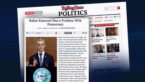 "Does Mayor Emanuel Have a ""Problem with Democracy""? 