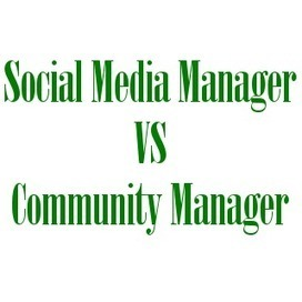 Social media manager e community manager: che differenza c'è? | Social it | Scoop.it