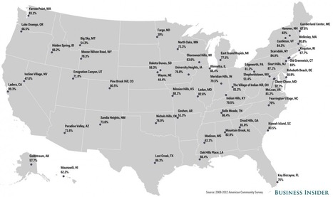 Here's The Most Educated Town In Every State | Human Geography | Scoop.it