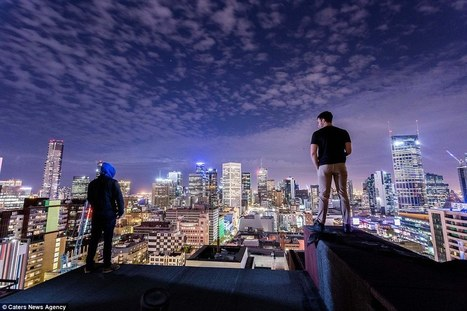 Stunning images of Melbourne's skyline after dark | Everything from Social Media to F1 to Photography to Anything Interesting | Scoop.it
