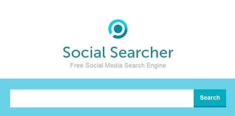 Social Searcher : Free Social Media Search Engine | Time to Learn | Scoop.it