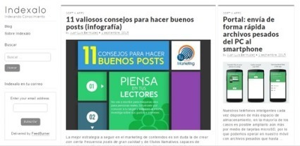 #Indexalo, un Directorio de Conocimiento. @enlanubetic | Pedalogica: educación y TIC | Scoop.it