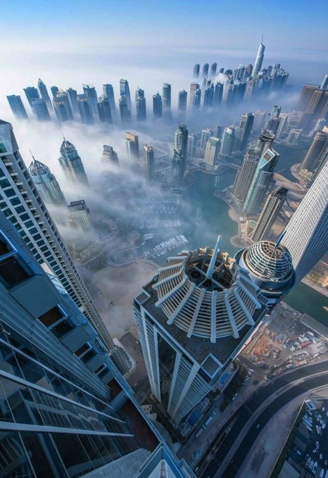 Photographer Turns Dubai Into Real-Life Cloud City | What's new in Visual Communication? | Scoop.it