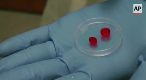 Scientists trying to 3D print a working human heart out of fat cells | 3D_Materials journal | Scoop.it
