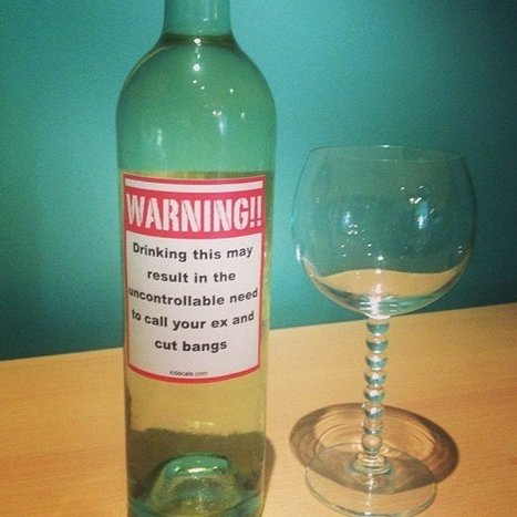 You've Been Warned wine Sticker   Shut up and take my money!   Scoop.it