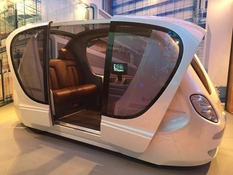 Singapour : des taxis autonomes avant la fin de l'année | Veille & Culture numérique | Scoop.it