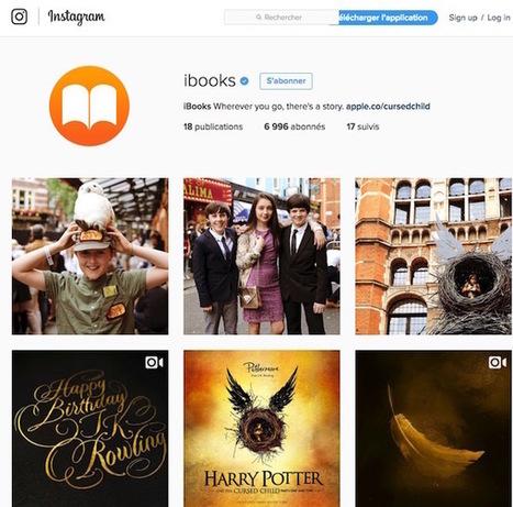 iBooks bascule sur Instagram pour des chroniques de livres   Lecteurs en communautés et lecture sociale   Scoop.it