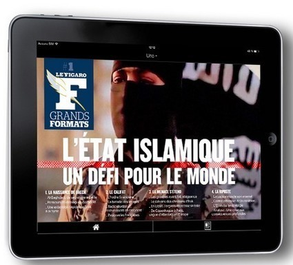 Lancement du Figaro Grands Formats sur tablette | DocPresseESJ | Scoop.it