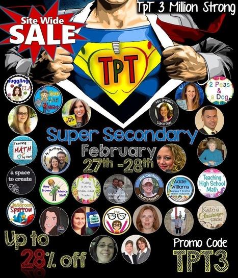 Teachers Pay Teachers Sale Time! | Library Media | Scoop.it