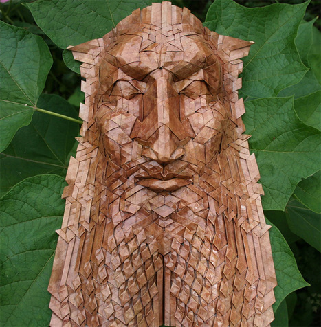 New Tessellated Origami Masks by Joel Cooper | Tudo o resto | Scoop.it