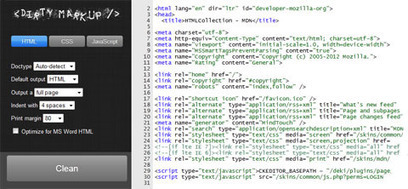 Beautify HTML, CSS & JavaScript From A Single ... - Html5 Tutorials | JavaScript Apis | Scoop.it