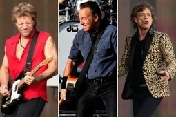 Bon Jovi, Bruce Springsteen, Rolling Stones Top 2013 Concert Earners List - Ultimate Classic Rock | Bruce Springsteen | Scoop.it