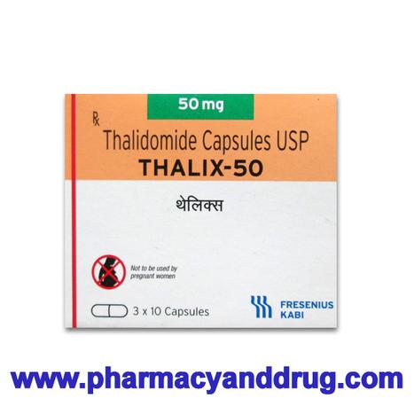Generic Thalix 50 mg (Thalidomide Capsules)   Anti Cancer Medicine   Scoop.it