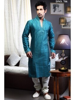 Raavi Dark Feroze Sherwani with Churidar-6545 - Shop and Buy Online at Best prices in India. | online shopping | Scoop.it