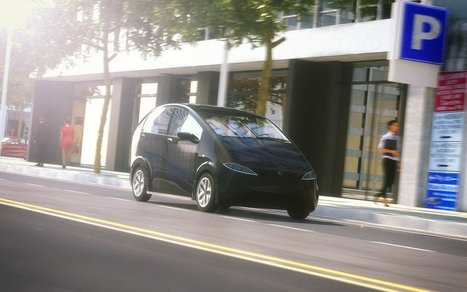 This Solar Car Charges Itself While It's Parked On The Street | Heron | Scoop.it
