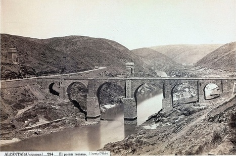 Puente de Alcántara. Foto de Laurent hacia 1867.   Curious World   Scoop.it