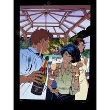 Affiche Francq - Largo Winch Champagne Moet et Chandon Sérigraphie BD - Bédécouverte | Champagne du siècle 21 | Scoop.it