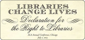 School Library Monthly Blog » Blog Archive » Right to Libraries Declaration | Information Science | Scoop.it