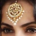 Maang Tikka - WedNeeds | Bridal Jewellery | Scoop.it