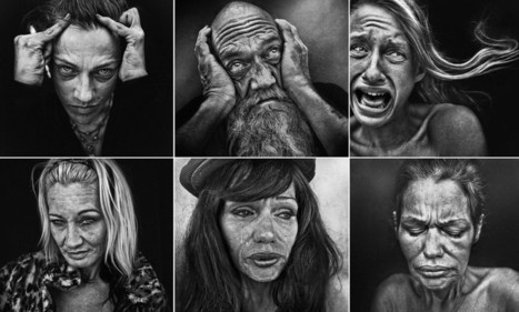 Photographer Lee Jeffries uncovers human face of drug addiction   SocialAction2014   Scoop.it