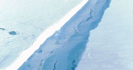 A lengthening crack is threatening to cause an Antarctic ice shelf to collapse | Sustain Our Earth | Scoop.it