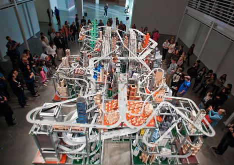 City Sculpture : 'Metropolis II' (2010) by Chris Burden at LACMA, Los Angeles | io art | Scoop.it