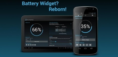 Battery Widget? Reborn! (BETA) - Android Apps on Google Play | Android Apps | Scoop.it