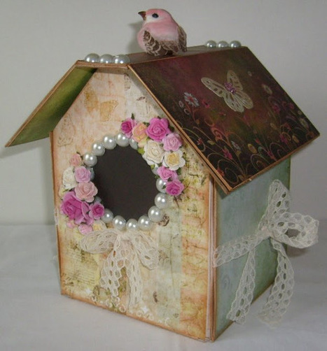 Welcome to Chan4Crafts: A Birdhouse Picture Album | How to do Crafts | Scoop.it
