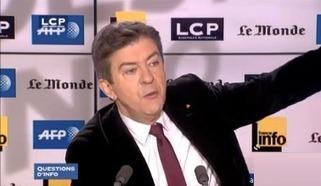 Face à trois faux-culs du PAF, Mélenchon tient bon et fait des étincelles... | Qué se va yan todos ! | Scoop.it