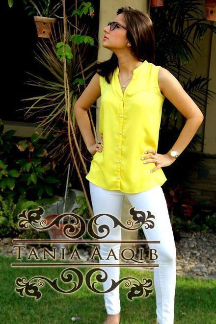 Eid-Ul-Fitr Dress Collection 2013 For Women By Tania Aaqiq | stylostyle | Scoop.it