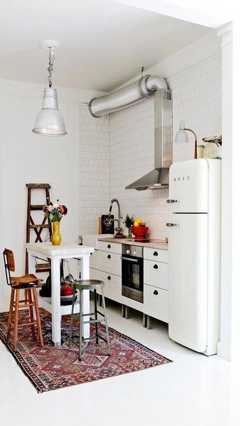 11 trucos para hacer de una cocina pequeña un espacio más grande. | Mil Ideas de Decoración | Decoración de interiores | Scoop.it