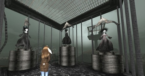 Arachnid by Cica Ghost - Second life - SL Newser   Second Life Destinations   Scoop.it