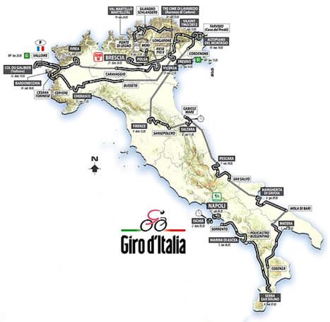 Unveiled the route for the Giro d'Italia 2013   Italia Mia   Scoop.it